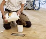 Gap filling & Finishing services provided by trained experts in Floor Sanding Brent